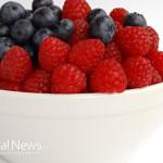 Berries-Bowl-Raspberries-Blueberries
