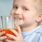 Boy-Drinking-Carrot-Juice
