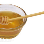 Honey-Bowl-Spoon-Isolated