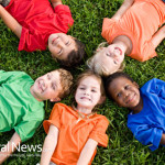 Kids-Circle-Grass-Happy-Ethnic-Play