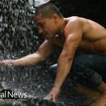 Man-Kneeling-Waterfall