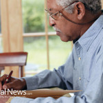 Senior-Elderly-Man-Pen-Writing-Glasses