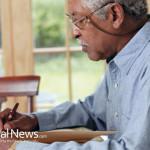 Senior-Elderly-Man-Pen-Writing-Glasses