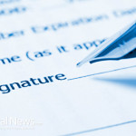 Signature-Insurance-Contract