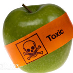Toxic-Food-Apple-Label