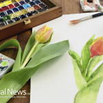 Watercolor-Painting-Flowers