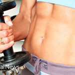 Woman-Abs-Weights-Strong-Fitness