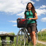 Woman-Bike-Nature-Ride-Basket-School