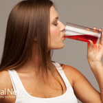 Woman-Drink-Juice-Healthy