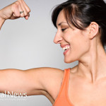 Woman-Flexing-Muscle-Arm-Strength-Fitness-Happy