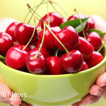 Woman-Holding-Bowl-Cherries
