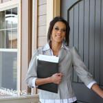 Woman-Realtor-Front-Door-House