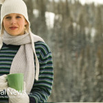 Woman-Ski-Trip-Coffee-Tea-Coco-Winter