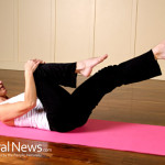 Woman-Stretching-Yoga-Mat-Fitness