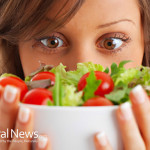 Woman-With-Salad-Healthy-Nutrition
