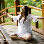 Woman-Yoga-Happiness-Wooden-Bridge-Nature