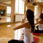 Yoga-Mats-Studio-Pose-Meditation-Woman-Group-Fitness