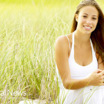 Young-Woman-Vacation-Nature-Grass