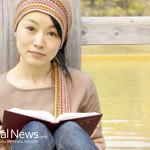 Asian-Woman-Read-Book-Dock-Water
