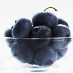 Blueberries-Small-Glass-Bowl
