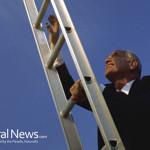 Business-Man-Climb-Ladder-Success