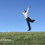 Business-Man-Happy-Jump-Nature