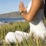 Woman-Nature-Grass-Beach-Ocean-Meditation