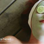 Woman-Spa-Cucumber-Face-Cream